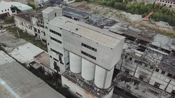 Cover Image for Abandoned Industrial Building