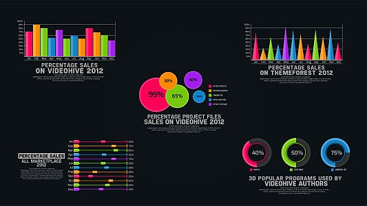 Infographics Chart Pack