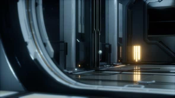 Thumbnail for Sci-fi Tunnel or Spaceship Corridor