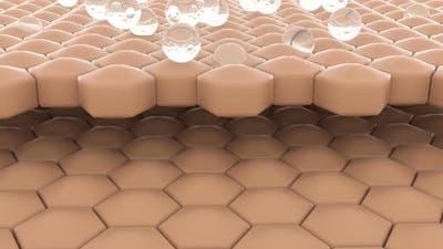 Serum Through the Skin Layer for Repair Wrinkles Limitations Skin Repair Concept