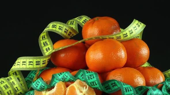 Thumbnail for Mandarin und Maßband, drehbar, 14 Stück
