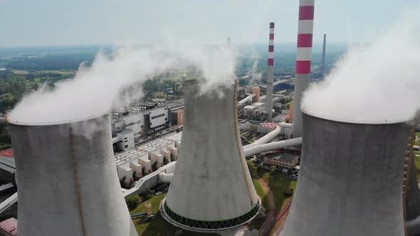 Thumbnail for Heavy Air Pollution From Big Chimneys