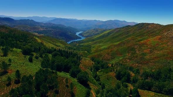 Thumbnail for Aerial View Of Amazing Secret Valley Nature Landscape