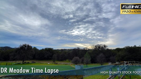 Thumbnail for HDR Meadow Time Lapse