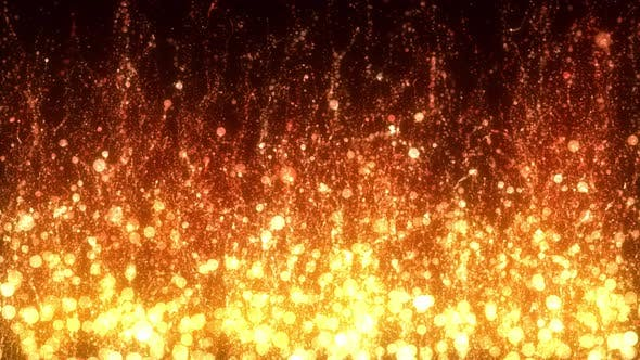 Thumbnail for Fiery Particles
