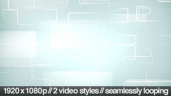 Thumbnail for Grid Tracing Technology Backdrop - 2 Styles Loop