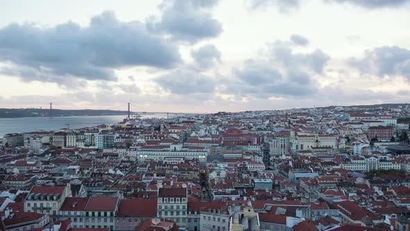 Timelapse of Lisbon