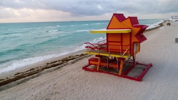 Thumbnail for Miami South Beach Art Deco Lifeguard Stand