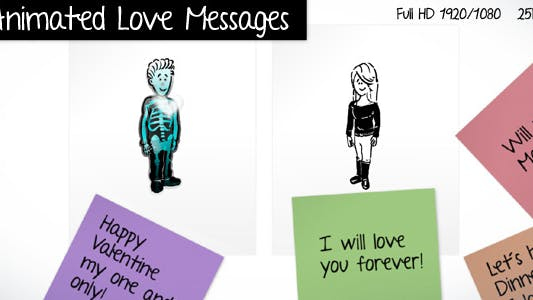Thumbnail for Animated Love Messages