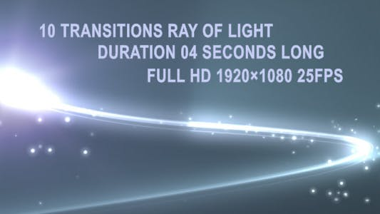 Thumbnail for 10 Transitions Ray Of Light