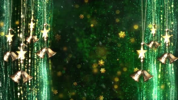 Thumbnail for Christmas Decorations Background 4