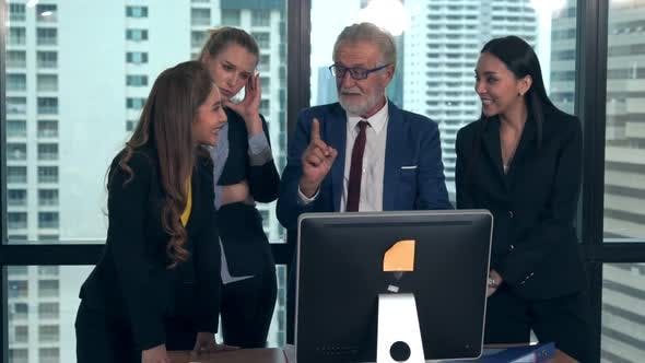 Professional Business People in the Group Meeting