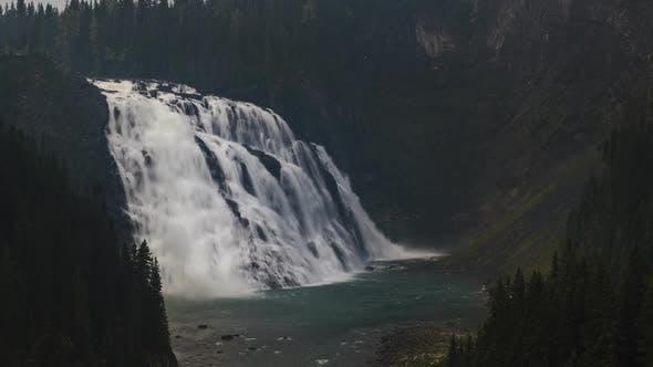 Thumbnail for Kinuseo Falls Near Timber Ridge  Time Lapse