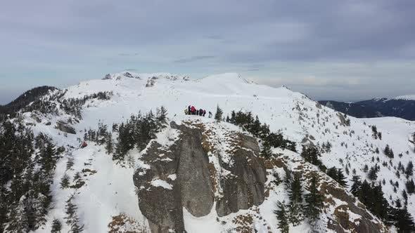 Mountaineers On The Edge