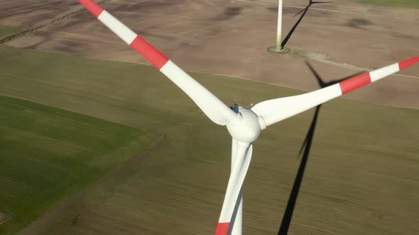 Thumbnail for Wind Farm Turning Windmills To Produce Electric Energy