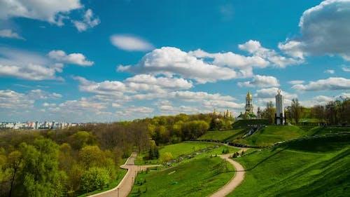 Frühling Kiew Landschaft
