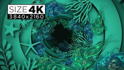Under Sea Paper Art