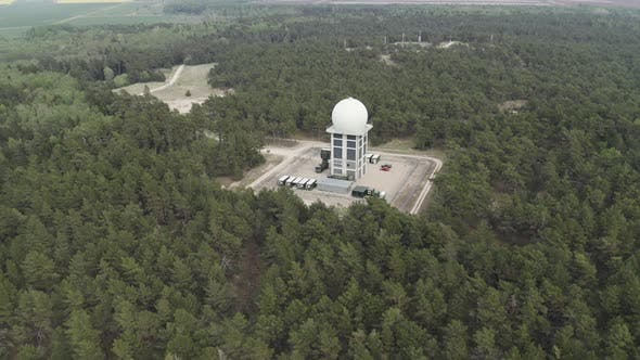 Thumbnail for Nato Radio Radar At Secret Military Base With Antimissile Battery
