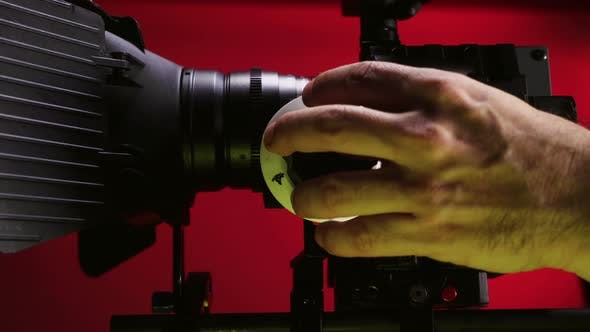 Thumbnail for Professional Filmmaker with Red Digital Cinema Camera 13