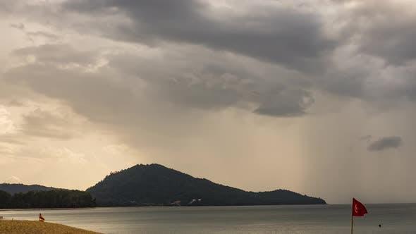 Thunderstorm Front in Phuket