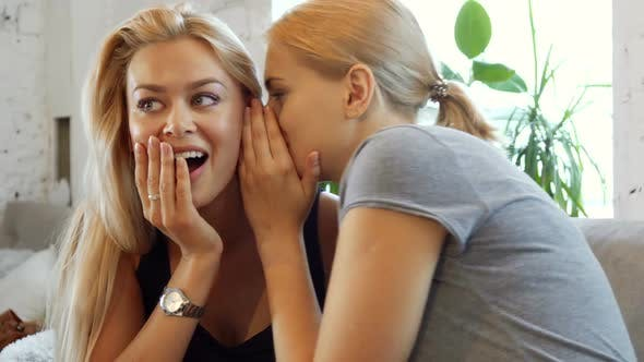 Thumbnail for Two Girls Are Gossiping