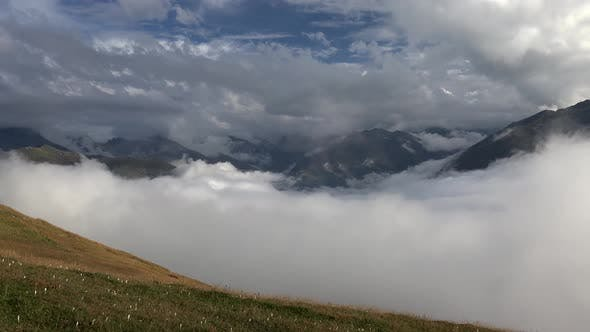 Thumbnail for Higher Elevation Alpine Meadows Above the Clouds
