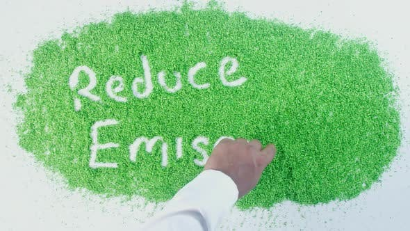 Thumbnail for Green Writing   Reduce Emission