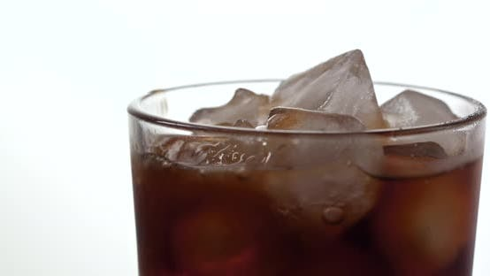 Thumbnail for Pouring iced soft drink