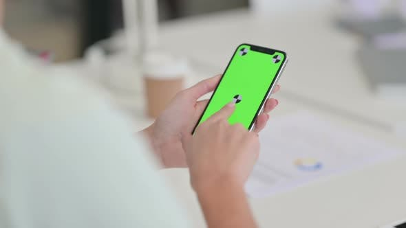 Thumbnail for Using Smartphone with Green Chroma Key Screen