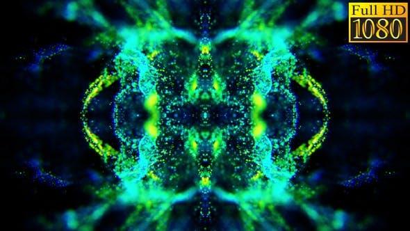 Abstract Liquid Particles Vj Loops V1