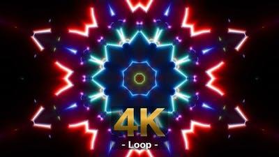 Colorful Party VJ Light 4K Loop 03