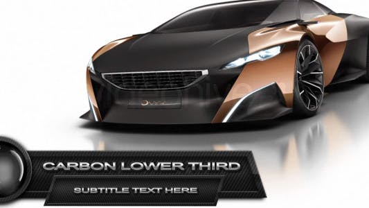 Thumbnail for Carbon Lower Third