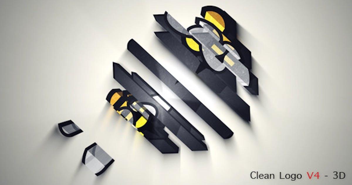 Download Clean Logo V4 - 3D by miseld