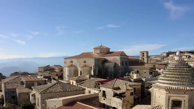 Historic cathedral of Gerace