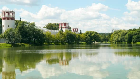 Thumbnail for Reflection of the Walls of the Novodevichy Convent in the Pond
