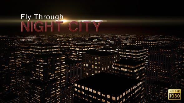 Fly Through Night City