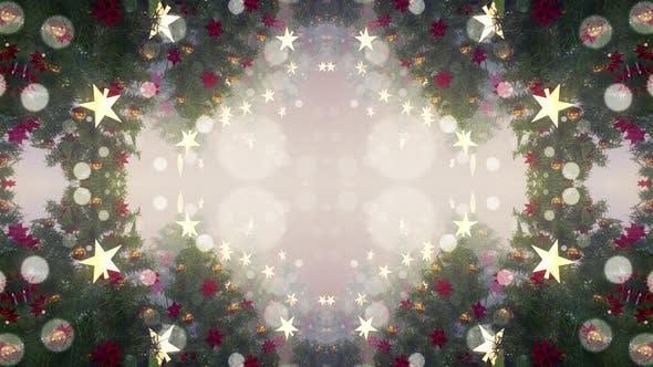 Christmas Tree Magic 02 4K