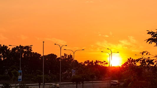 Thumbnail for Bright Sunset 1