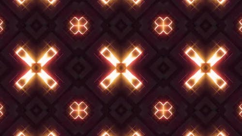 Neonlicht Glow Kaleidoskop V2