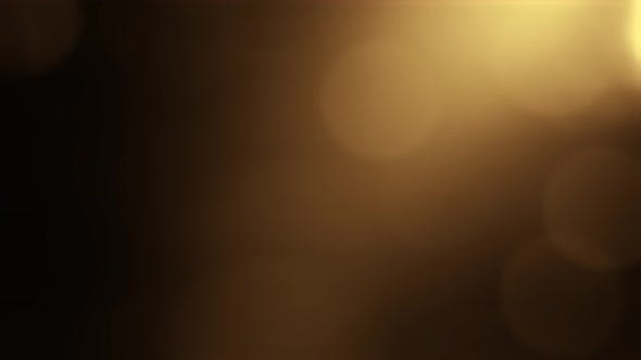 Thumbnail for Gold Yellow Bokeh Particles Background