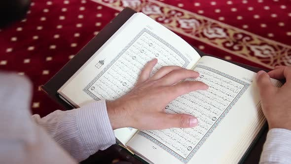 Thumbnail for Reading Quran in Mosque