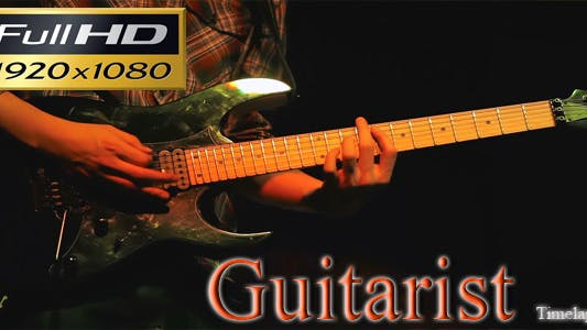 Thumbnail for Guitarist Time Lapse