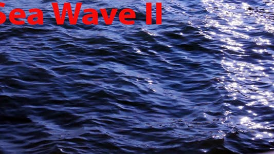 Thumbnail for Sea Wave II
