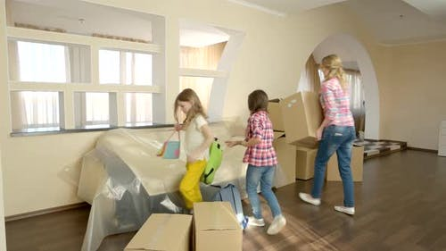 Family with Kids Moving In.