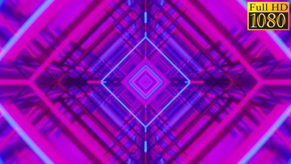 Thumbnail for Retrowave Kaleidoscope Vj Loops Pack V6