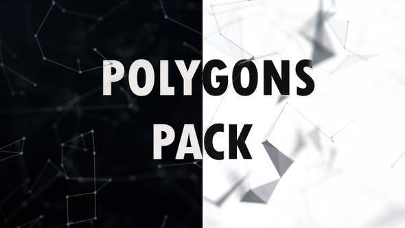 Clean Polygons 4K Pack
