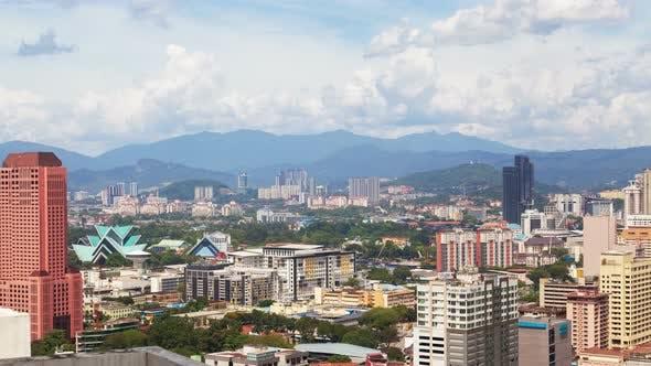 Thumbnail for Amazing Cloudscape Day of Kuala Lumpur City