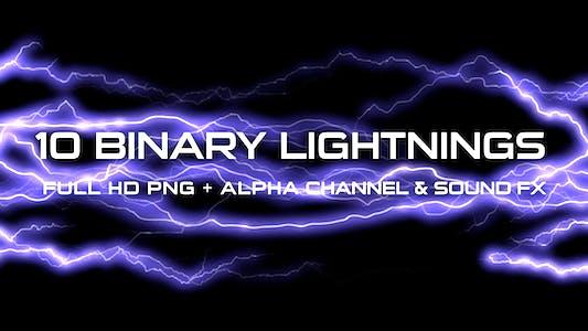 Thumbnail for Binary Lightning (Pack of 10)