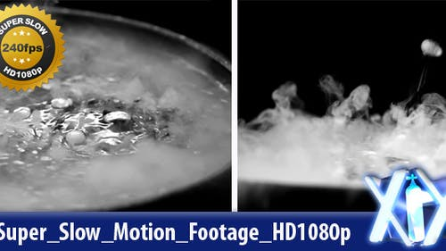 Dry Ice Boiling 240fps