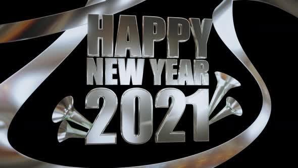Thumbnail for Glückliches neues Jahr Silber 2021